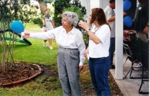 Annie Mae and Rachael Jul 2003