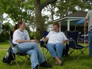 Beth and Carolyn