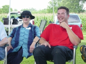 Nanny and Brandon jul 2003