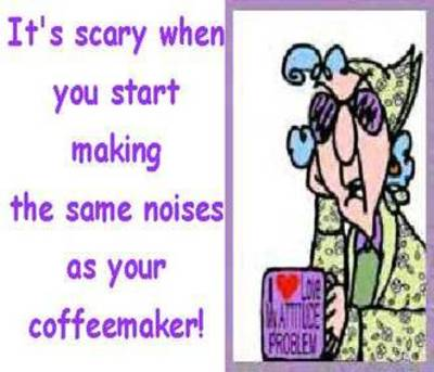 coffeemaker noises