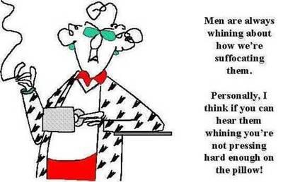 Men whining