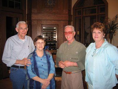 Walter, Sherry, Bubba, Krista 2005