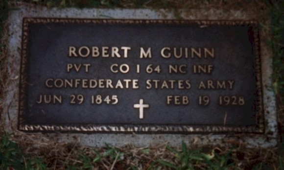 Robert Mcpherson Guinn Headstone small