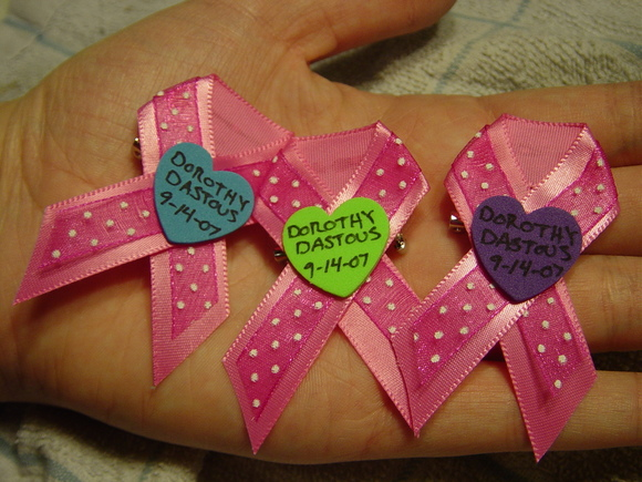 Dorothy's ribbons