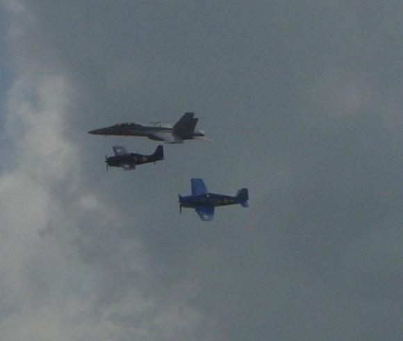 Navy Heritage Flight