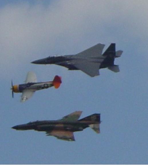 AF Heritage flight