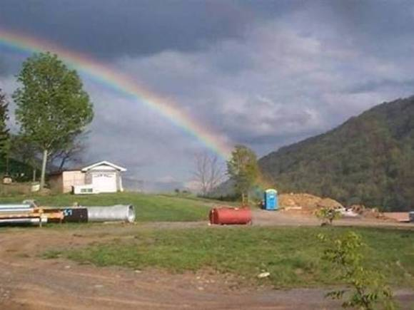 Pot at the end of the rainbow