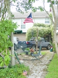 Front yard 2005