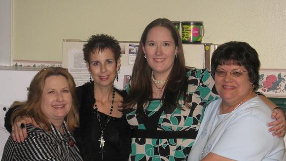 Cindy, Paula, Beth, Martha