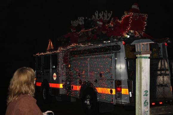 Santa fire truck 2