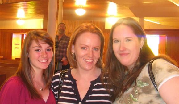 Olivia, Melissa, Beth 5-10-09