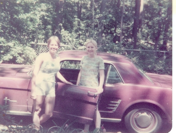 Gwen and Cindy 1975