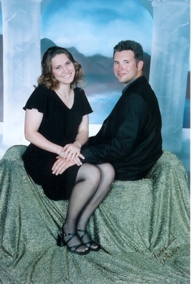 Brandon and Rachael May 2003